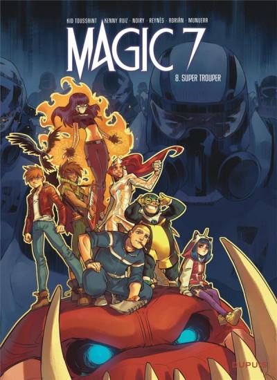 Couverture Magic 7 tome 8