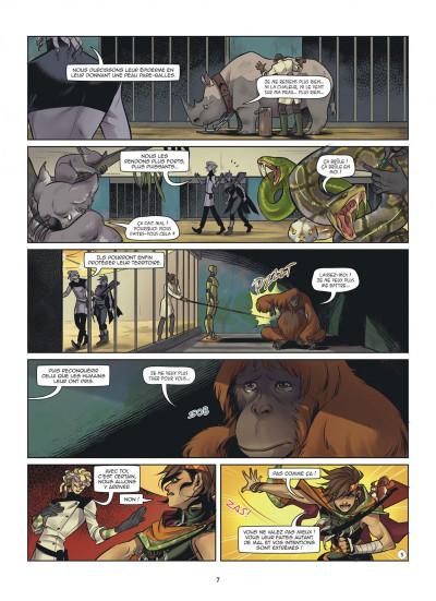 Page 7 Magic 7 tome 8
