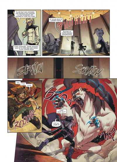 Page 8 Magic 7 tome 8