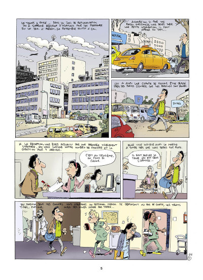 Page 5 Les femmes en blanc tome 41