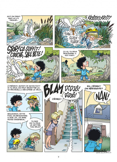 Page 7 Cédric tome 33