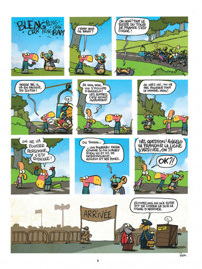 Page 6 Les cavaliers de l'apocadispe tome 2