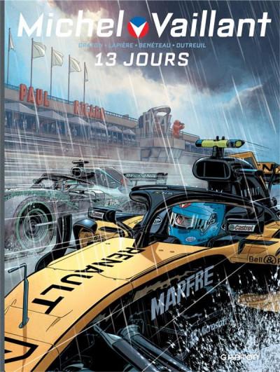 Couverture Michel Vaillant - nouvelle saison - tome 8