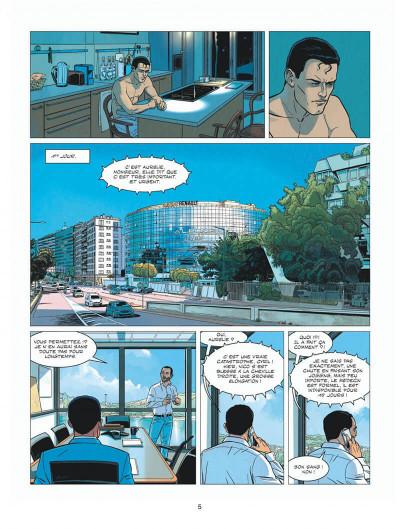 Page 5 Michel Vaillant - nouvelle saison - tome 8