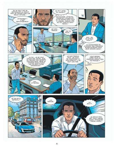 Page 6 Michel Vaillant - nouvelle saison - tome 8