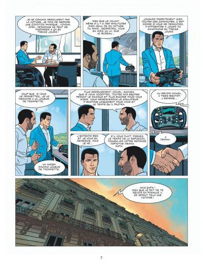 Page 7 Michel Vaillant - nouvelle saison - tome 8