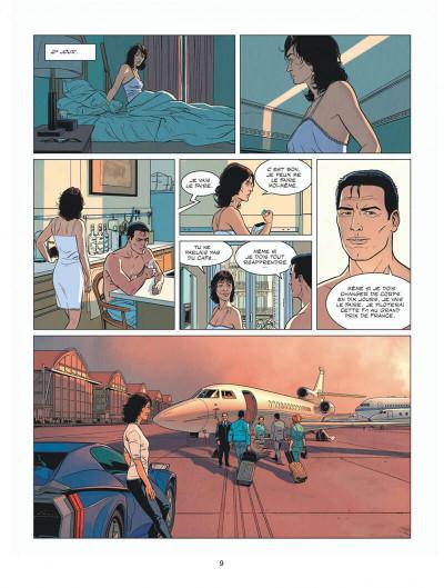Page 9 Michel Vaillant - nouvelle saison - tome 8