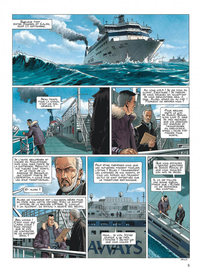 Page 5 Lady S - intégrale tome 3