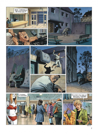 Page 7 Lady S - intégrale tome 3