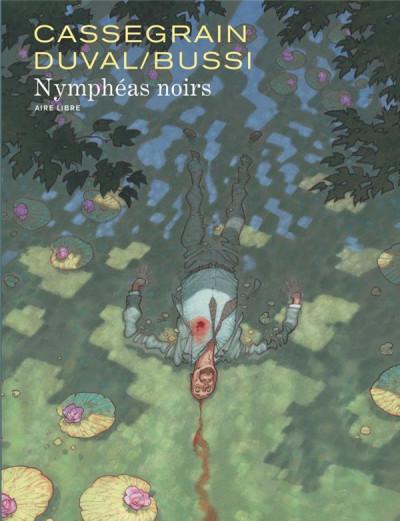 Couverture Nymphéas noirs (édition spéciale) + ex-libris offert