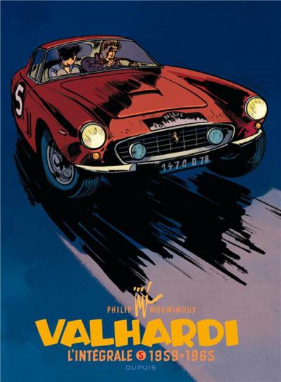 Couverture Valhardi - intégrale tome 5 - 1959-1965