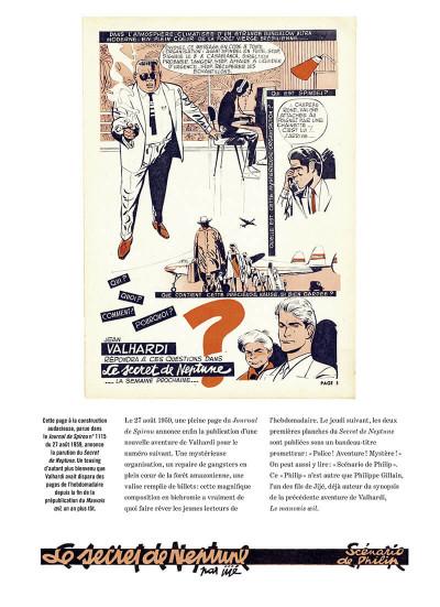 Page 6 Valhardi - intégrale tome 5 - 1959-1965