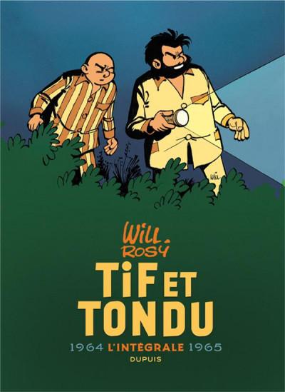 Couverture Tif et Tondu - intégrale tome 4