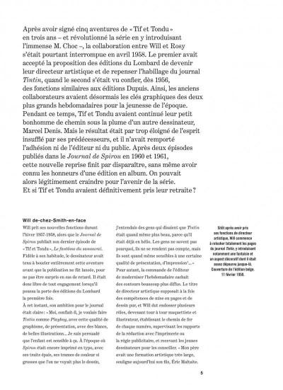 Page 5 Tif et Tondu - intégrale tome 4