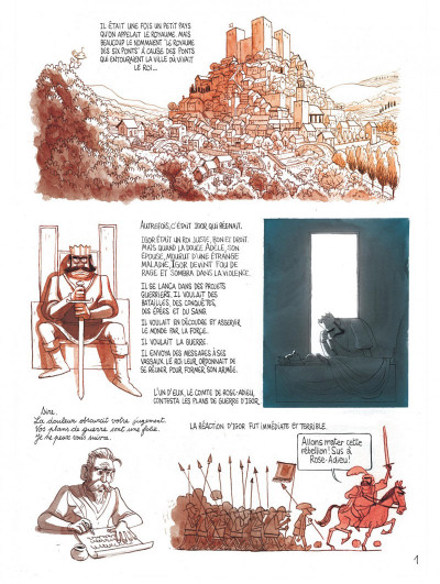 Page 5 Le royaume de Blanche-fleur - Le complot de la reine