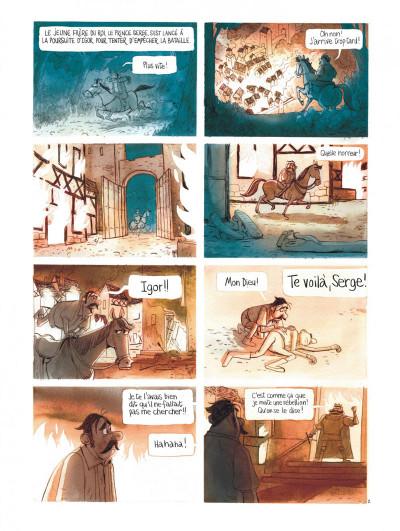 Page 6 Le royaume de Blanche-fleur - Le complot de la reine