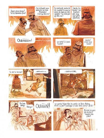 Page 7 Le royaume de Blanche-fleur - Le complot de la reine