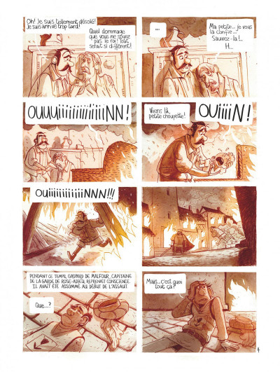 Page 8 Le royaume de Blanche-fleur - Le complot de la reine