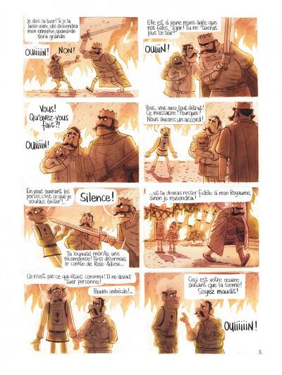 Page 9 Le royaume de Blanche-fleur - Le complot de la reine