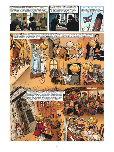 Page 6 Mademoiselle J tome 2