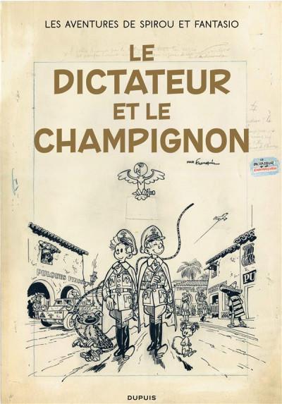 Couverture Spirou et Fantasio - tirage de tête version originale tome 23
