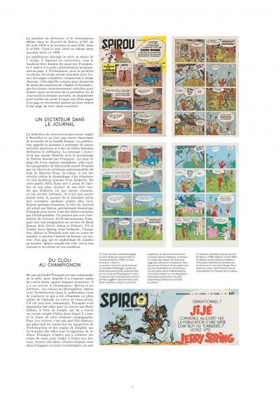 Page 4 Spirou et Fantasio - tirage de tête version originale tome 23