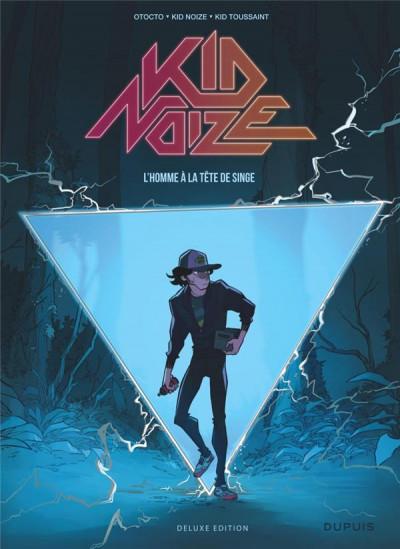 Couverture Kid Noize tome 1 (éd. augmentée)