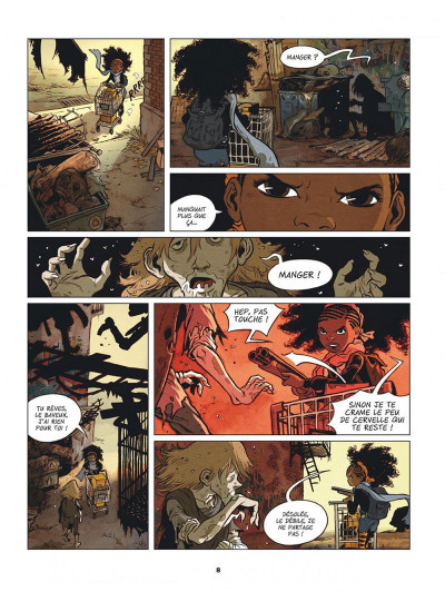 Page 8 Créatures tome 1