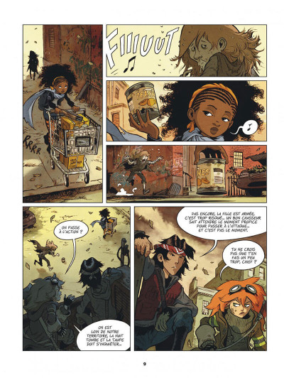 Page 9 Créatures tome 1