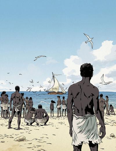 Couverture Les esclaves oubliés de Tromelin (édition musée de l'homme)