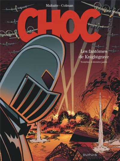 Couverture Choc - les fantômes de Knightgrave tome 3 (éd. spéciale)