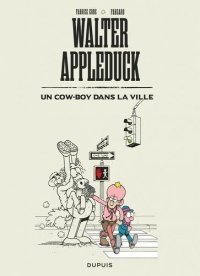 Couverture Walter Appleduck tome 2