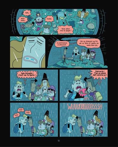 Page 0 Perdus dans le futur tome 1