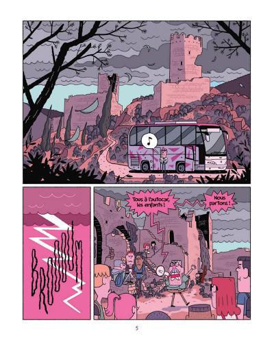Page 5 Perdus dans le futur tome 1