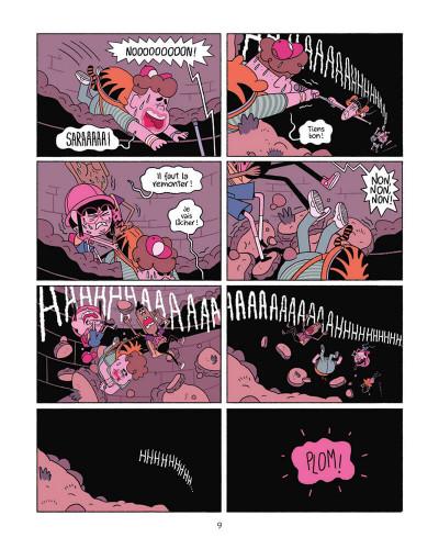 Page 9 Perdus dans le futur tome 1