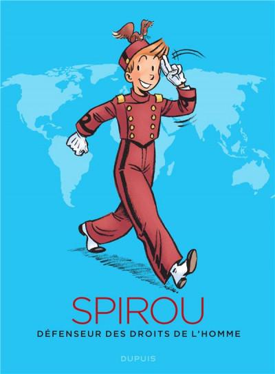 Couverture Spirou, défenseur des droits de l'homme