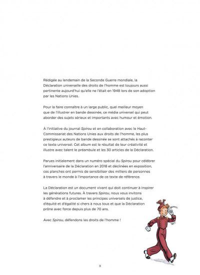 Page 3 Spirou, défenseur des droits de l'homme