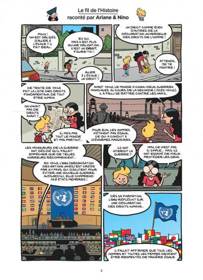 Page 8 Spirou, défenseur des droits de l'homme