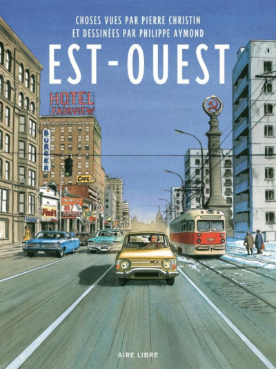 Couverture Est-ouest - édition collector 48h BD