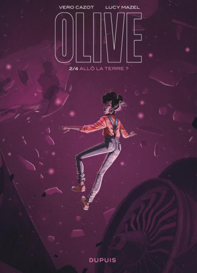 Couverture Olive tome 2