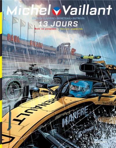 Couverture Michel Vaillant - nouvelle saison tome 8 - 13 jours (WIP)