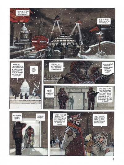 Page 5 Orbital - intégrale tome 1