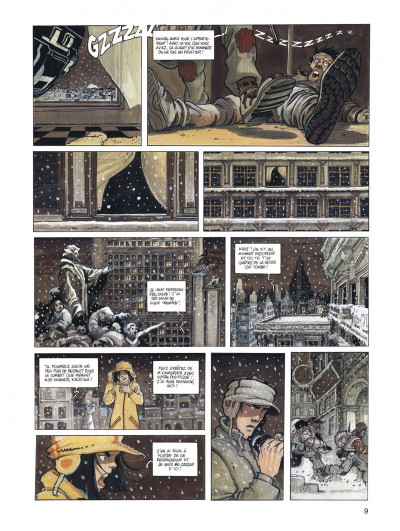 Page 9 Orbital - intégrale tome 1