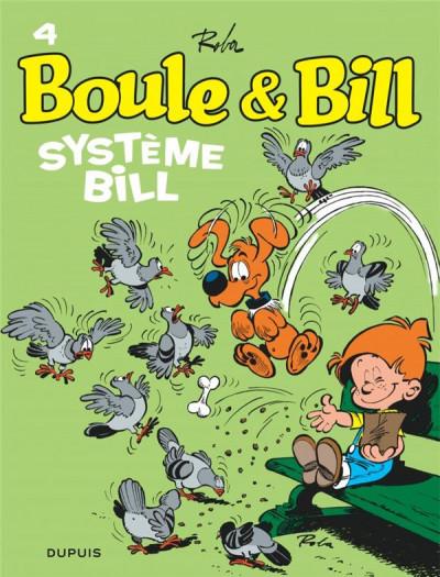 Couverture Boule & Bill - éd. 2019 tome 4
