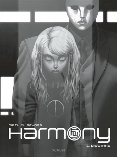 Couverture Harmony tome 5 (édition noir et blanc)