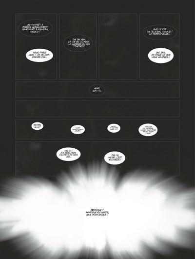 Page 8 Harmony tome 5 (édition noir et blanc)