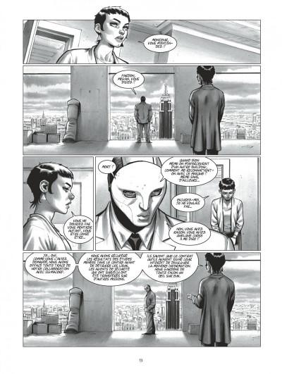 Page 9 Harmony tome 5 (édition noir et blanc)