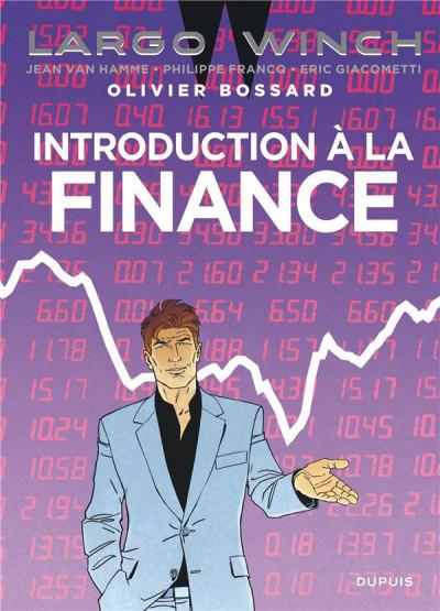 Couverture Largo Winch - introduction à la finance