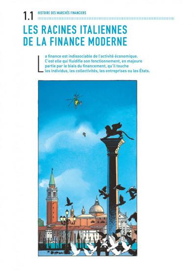 Page 8 Largo Winch - introduction à la finance