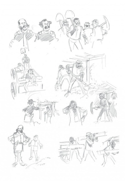 Page 5 Les tuniques bleues - grand format n&b tome 63